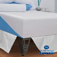 "Night Therapy 12"" MyGel® Ultimate Memory Foam Mattress & Bed Frame Set-Queen at Kmart.com"