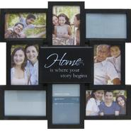 "ESSENTIAL HOME EXPRESSIONS 8 OPENING ""HOME"" COLLAGE FRAME at Kmart.com"