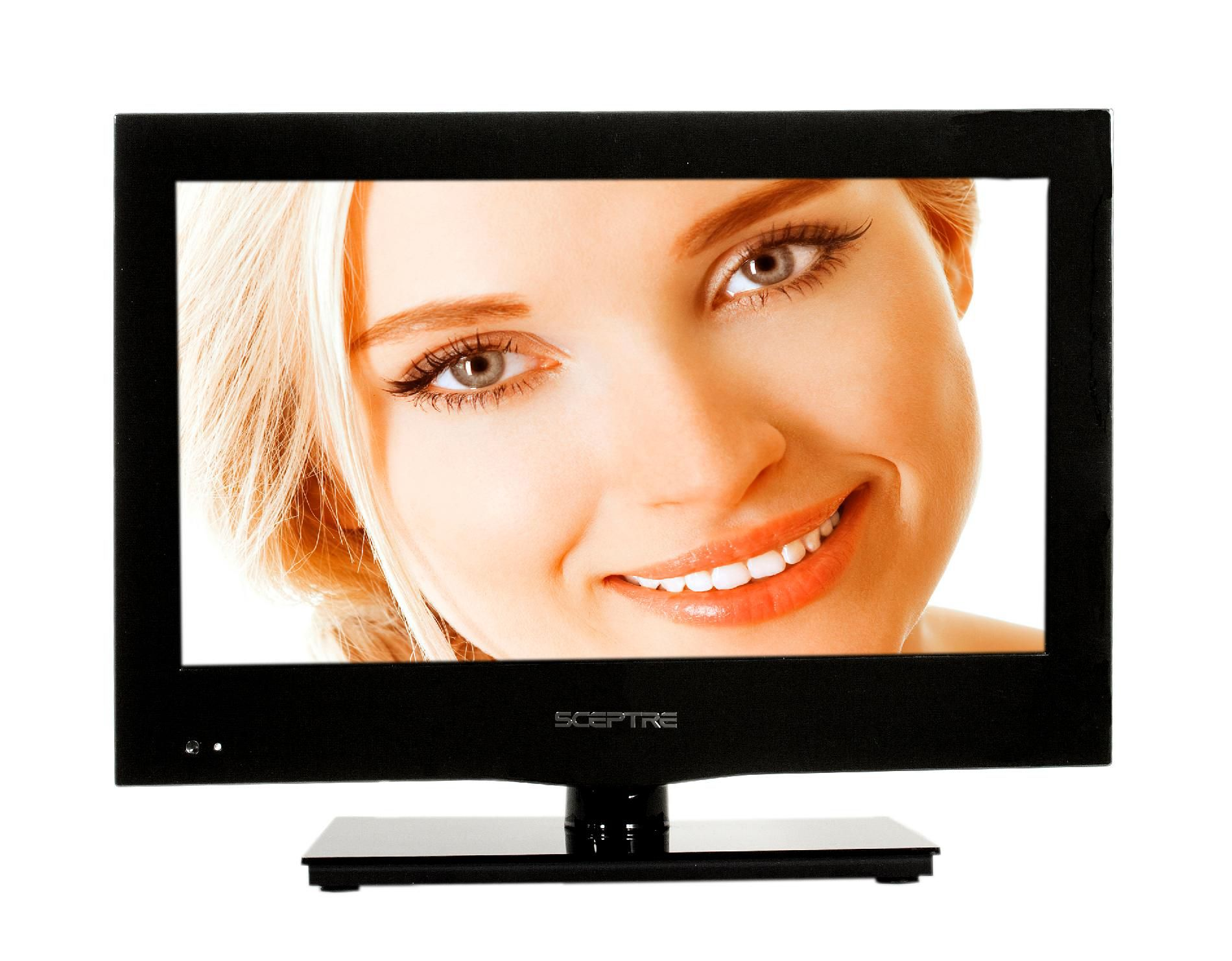 Sceptre E165BD-HD: 16 LED Class 720P HDTV with built-in DVD player 2xHDMI,