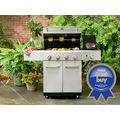 4-Burner Stainless Steel Gas Grill