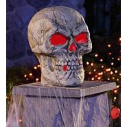Totally Ghoul Large Skull with Multicolor LED Lights at Kmart.com