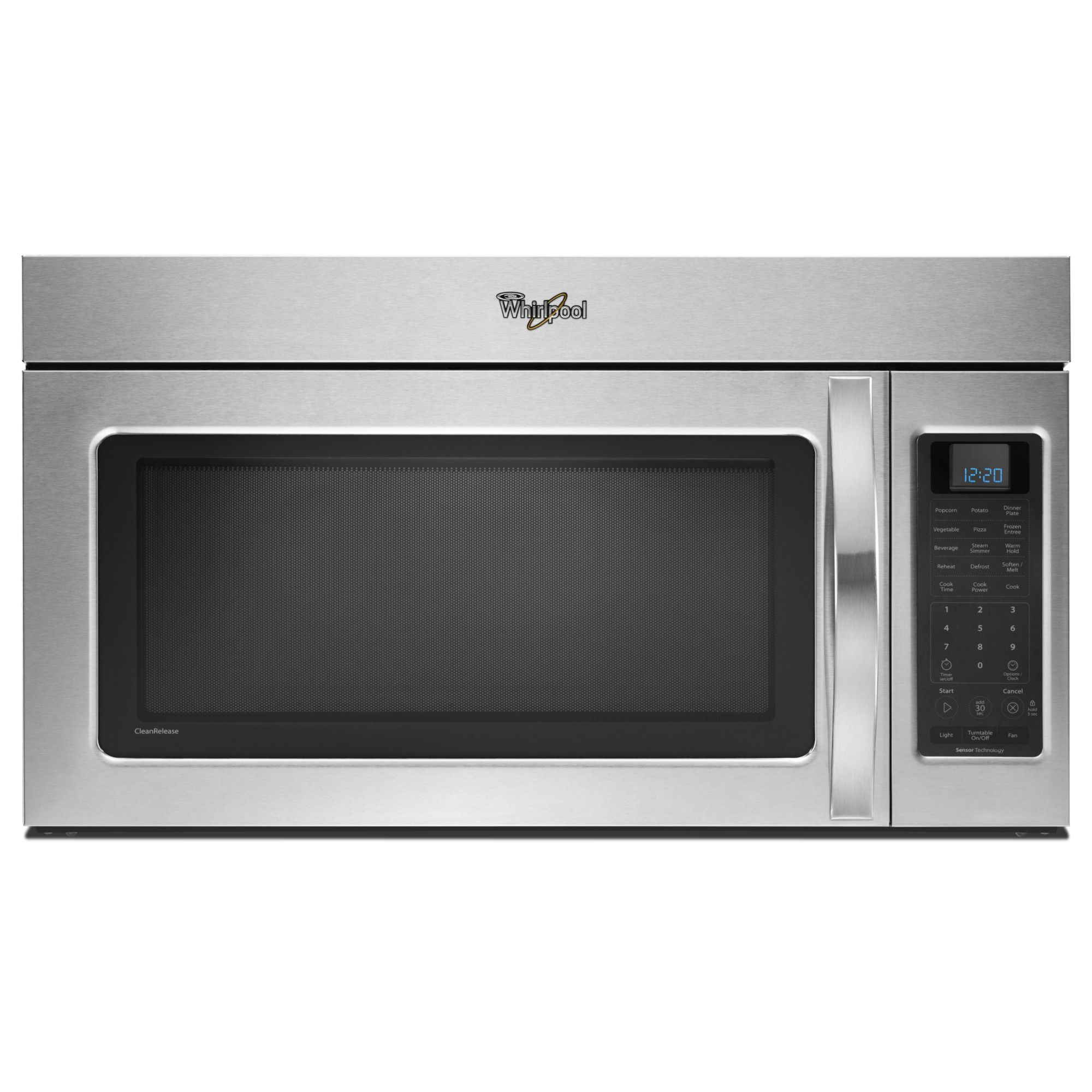 Whirlpool 30 Over the Range Microwave w/ Auto Adapt Fan - Stainless Steel