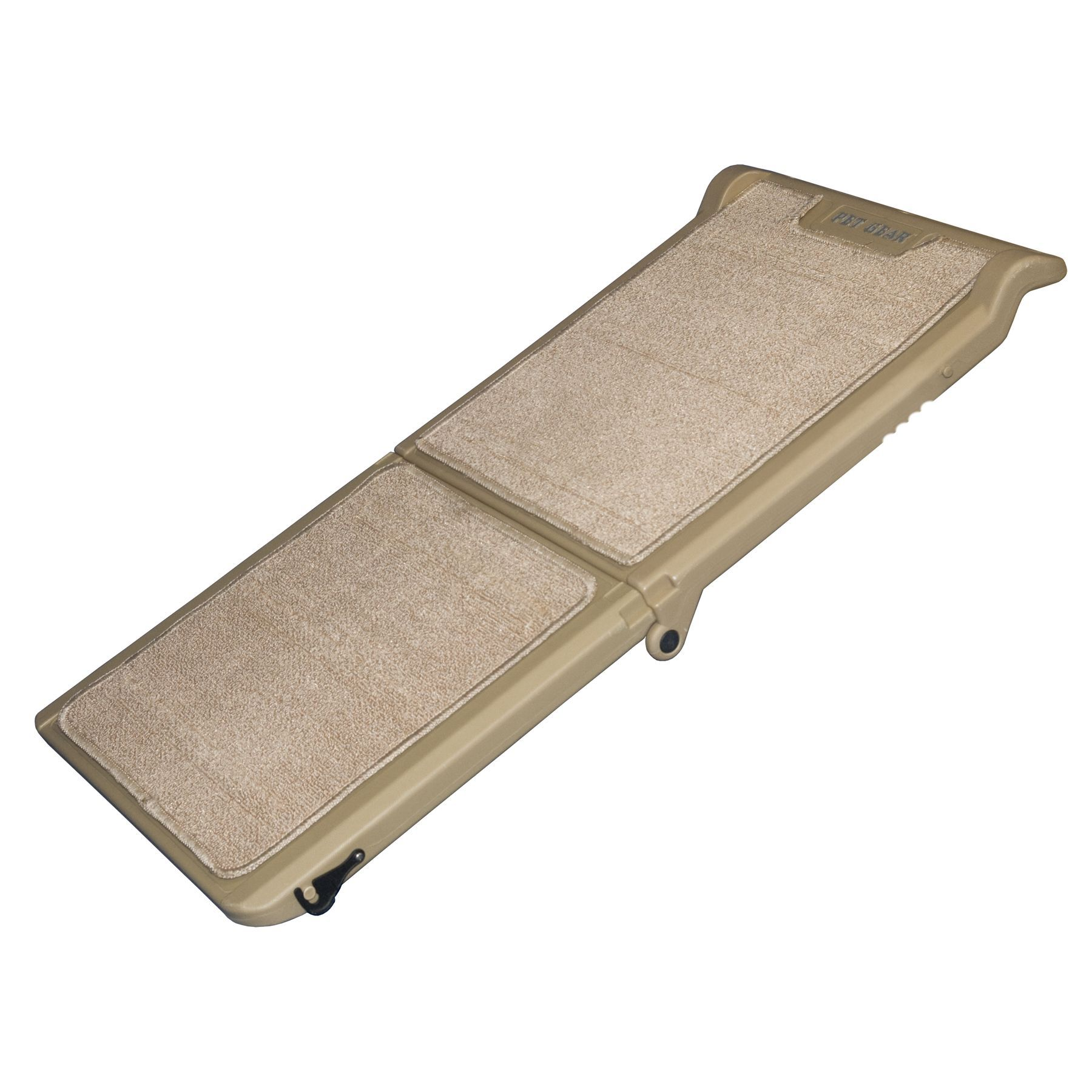 Pet Gear Short Bi-Fold Pet Ramp, Carpeted