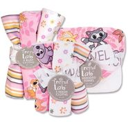 Trend-Lab Hooded Towel & Wash Cloth & Burp Cloth Set - Lola Fox at Kmart.com
