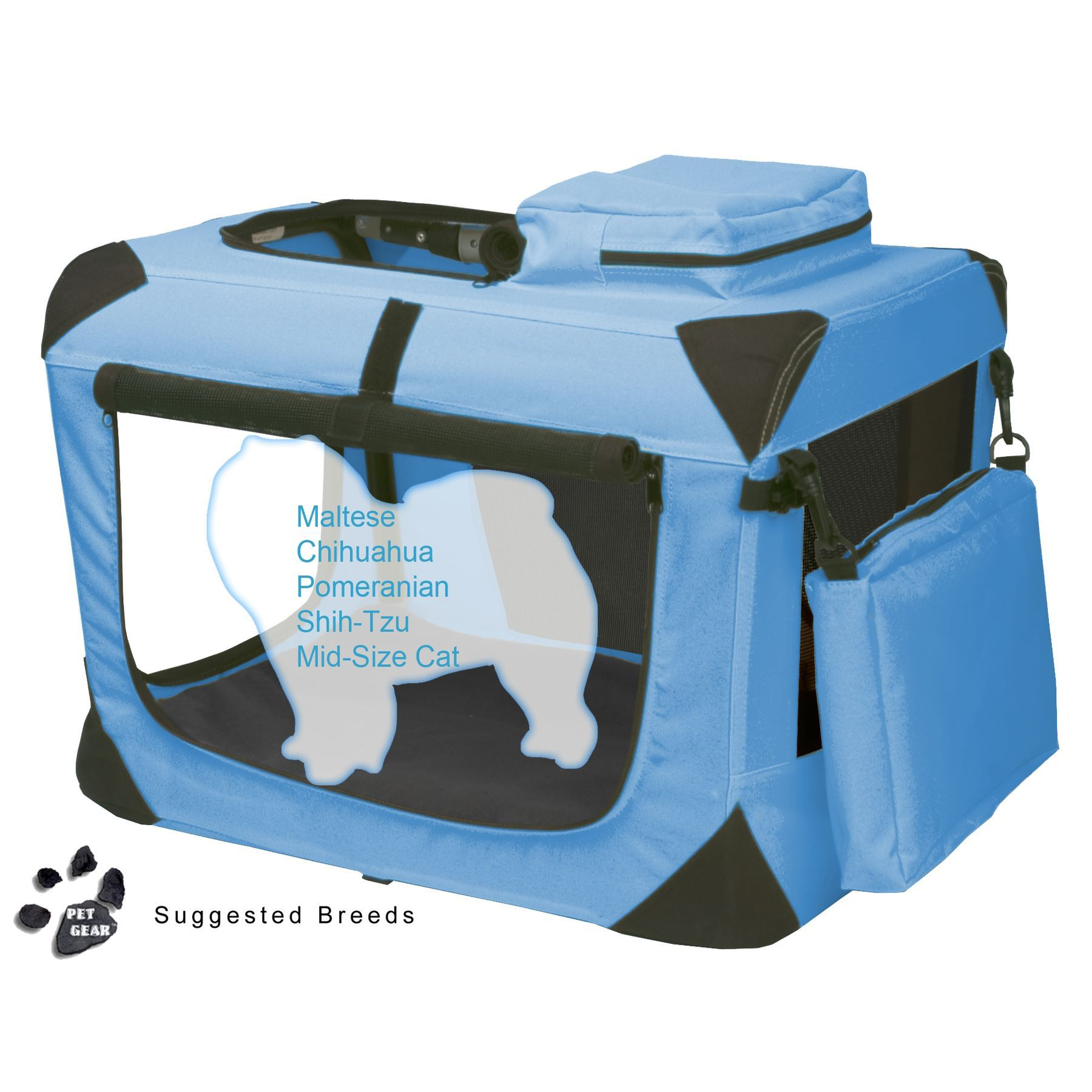 Pet Gear Generation II Soft Crate, 21""