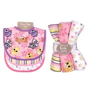 Trend Lab 7 Piece Bib & Burp Cloth Kit - Lola Fox at Kmart.com