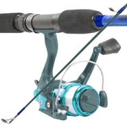 South Bend Worm Gear Fishing Rod & Spinning Reel (Blue) Comb at Kmart.com