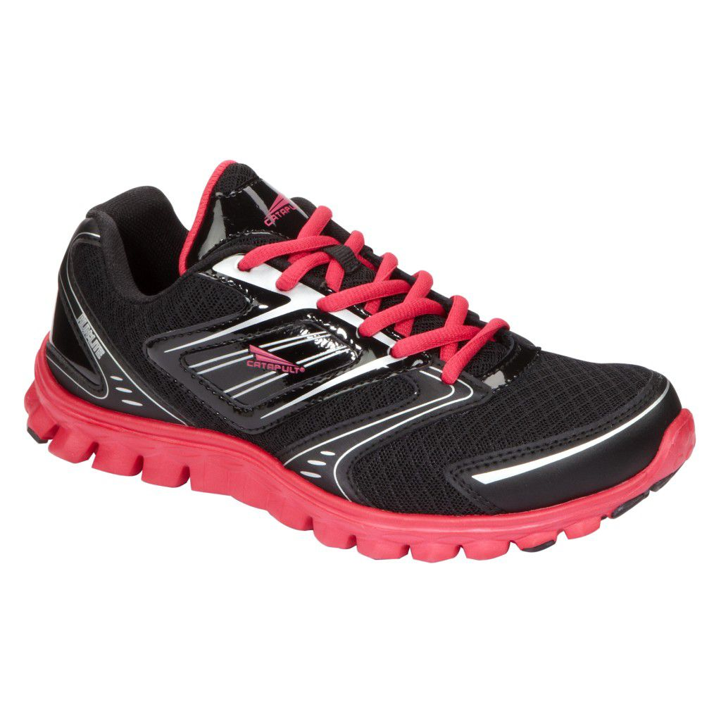 Women's LiteFlex Athletic Shoe - Black/Pink
