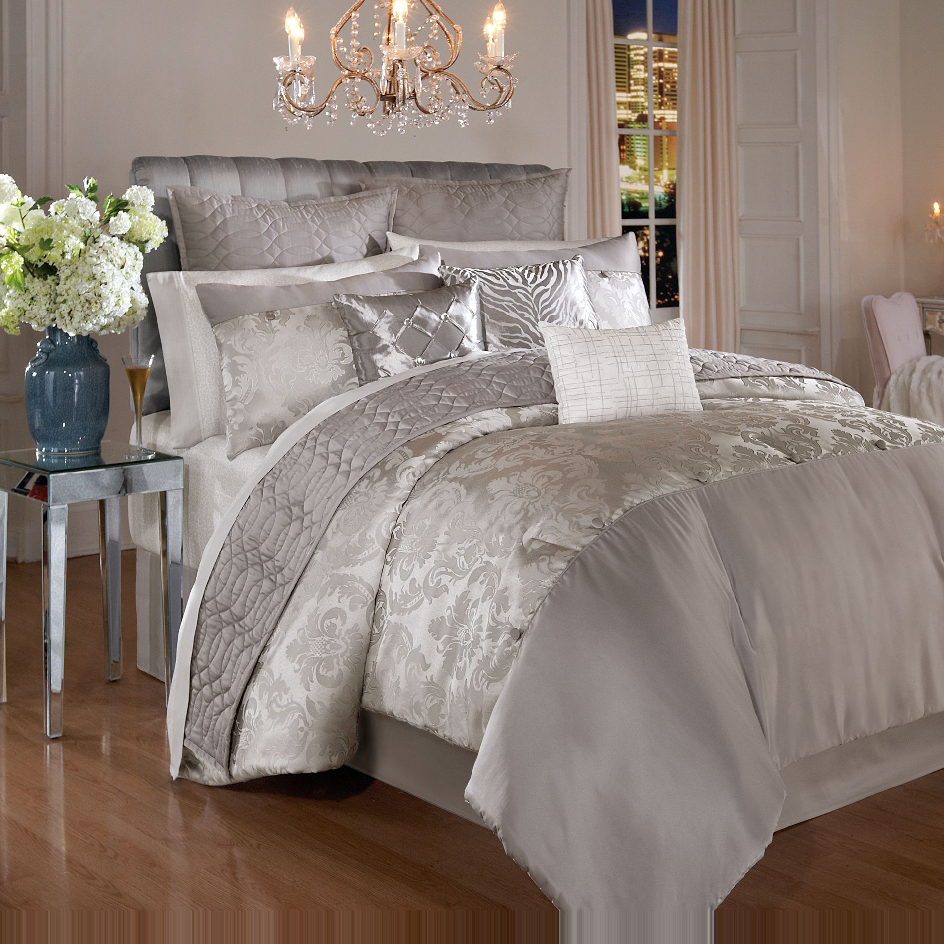 Kardashian Kollection Home-New York Dreamer Bedding Collection