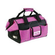 "The Original Pink Box 12"" Pink Canvas Tool Bag w/ Tape Measure Clip at Craftsman.com"