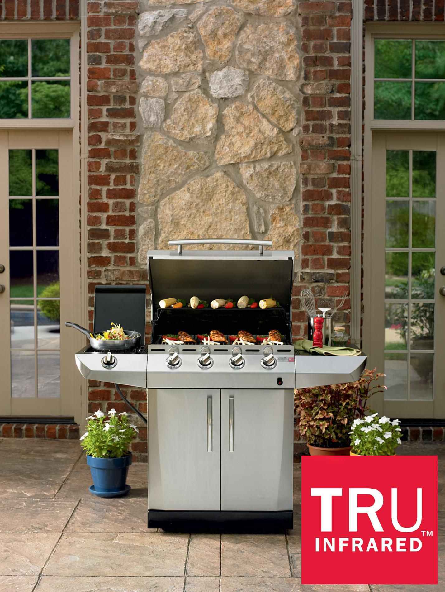 4-Burner-Infrared-Gas-Grill