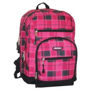 Genuine Dickies Plaid with Suede Bottom Backpack - Pink Plaid at Kmart.com