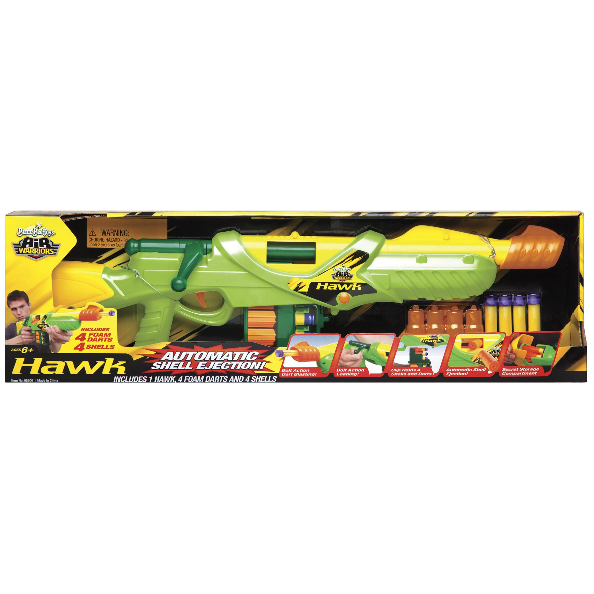 Buzz Bee Toys Hawk