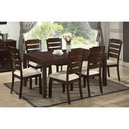 Baxton Victoria 7-Piece Wood Modern Dining Set at Sears.com