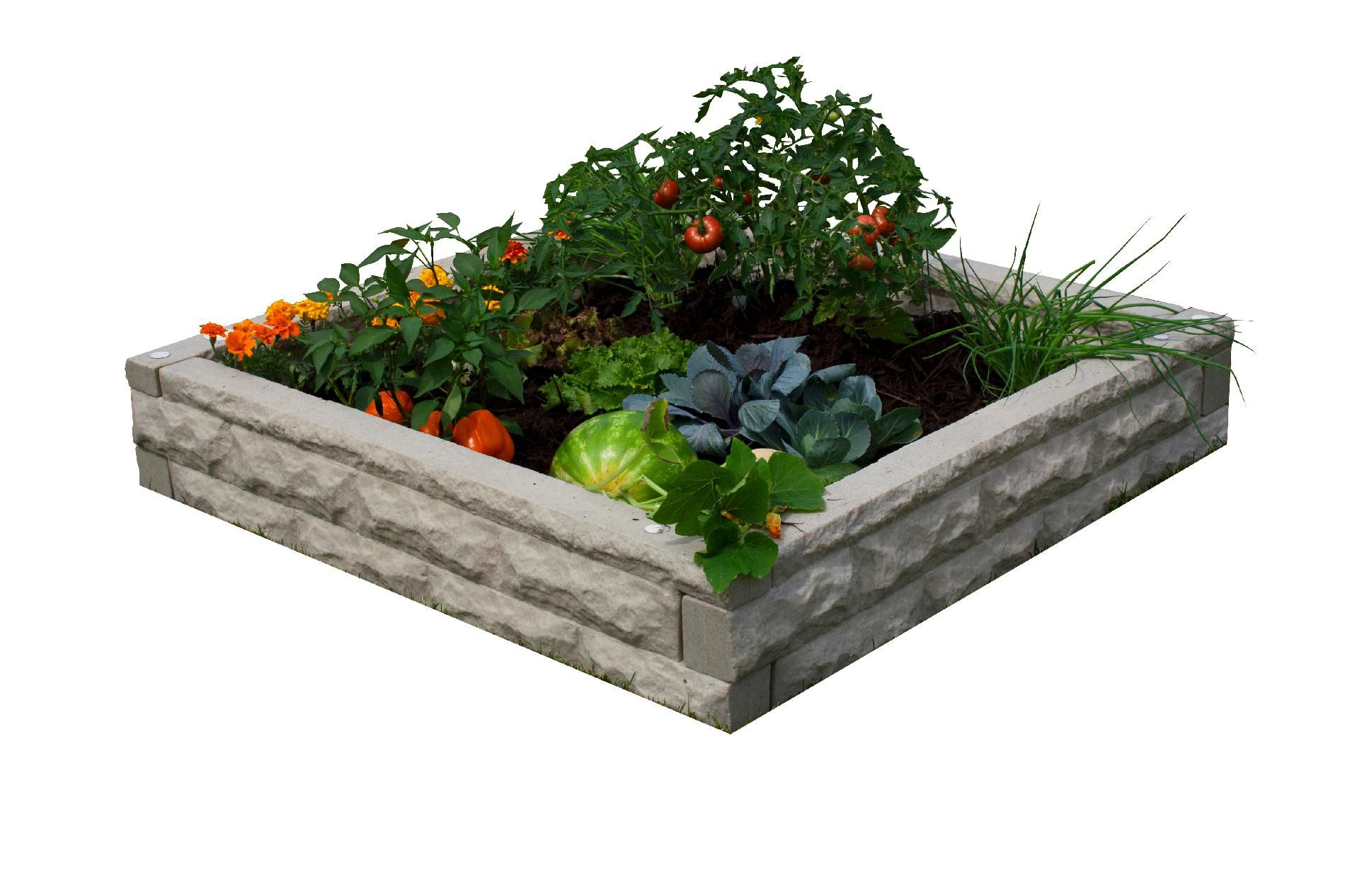 Garden Wizard Raised Bed Garden - Sandstone