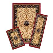 Capri Carpi Wrought Iron Medallion 3 Piece Area Rug Set at Kmart.com