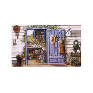 Country Shed Outdoor Rubber Entrance Welcome Mat at Kmart.com