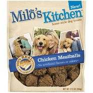 Milo's Kitchen Home-Style Chicken Meatballs Dog Treats, 12.5 oz at Kmart.com