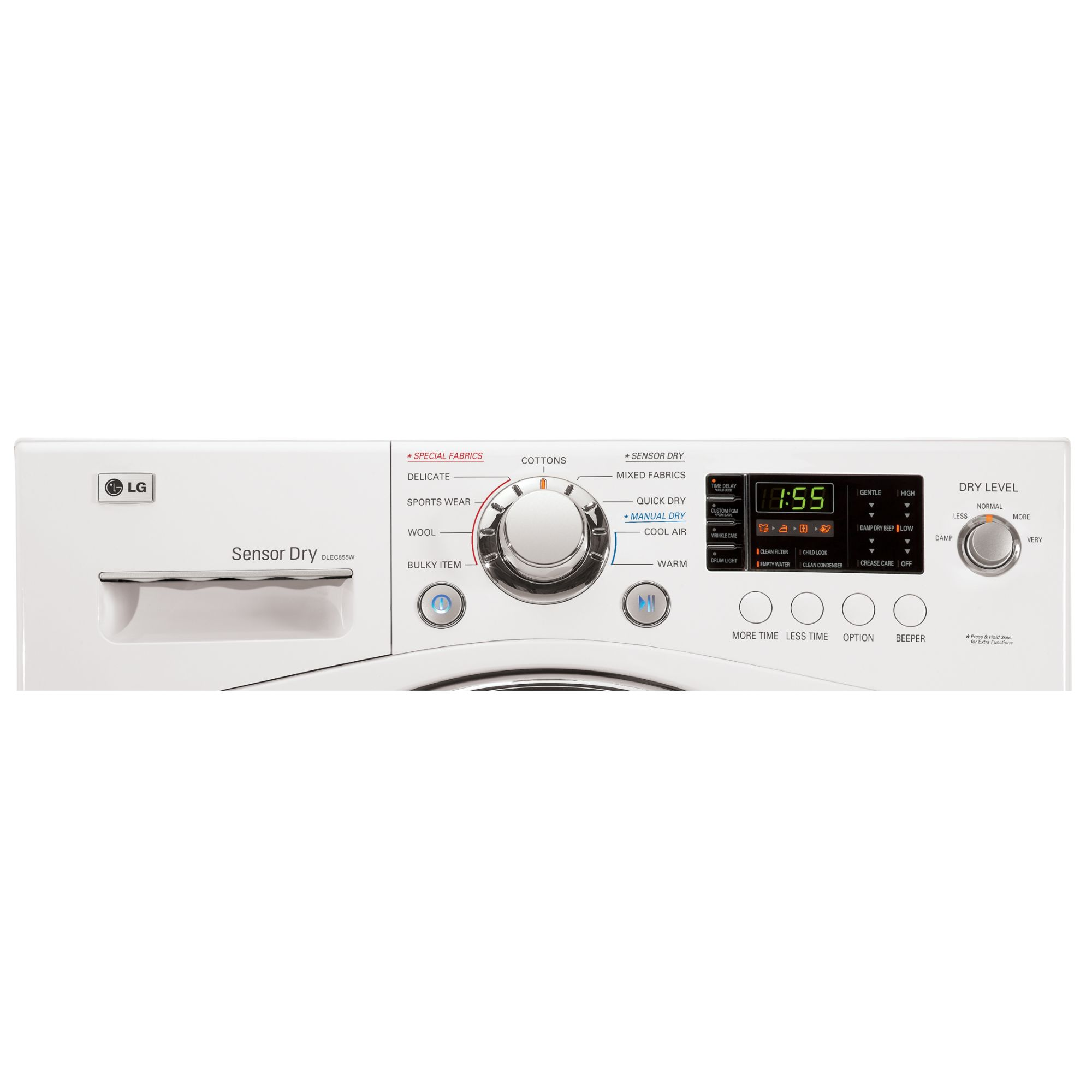 LG 4.2 cu. ft. Compact Electric Dryer