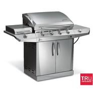 Char-Broil 4-Burner Infrared Gas Grill with Side Burner and Auto Clean* at Sears.com