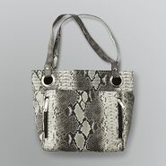 Attention Snake Print Mini Tote Shoulder Bag at Kmart.com