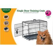 Krislin Single Door Dog Crate, 42 inch at Kmart.com