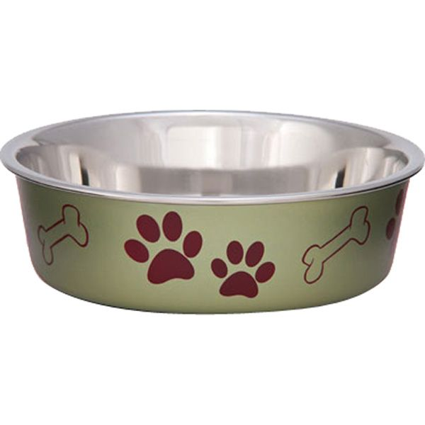 Bella Pet Bowl, Artichoke, Small