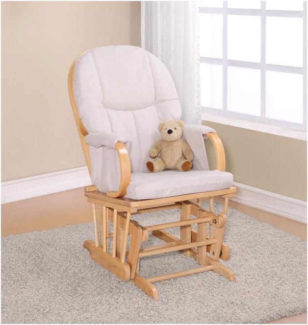 Dorel Asia  Glider Rocker Natural
