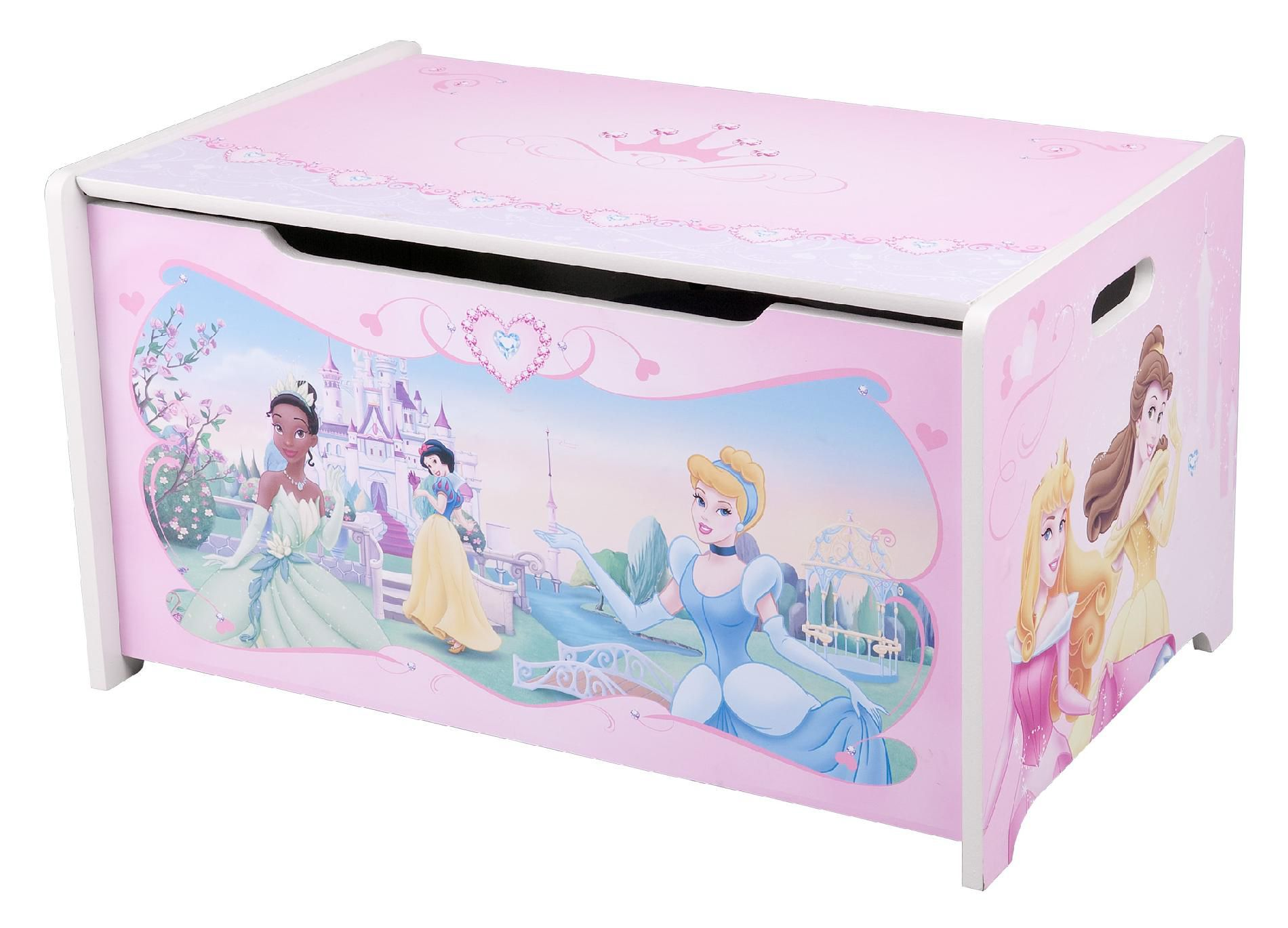 Delta  Disney Princess Pretty Pink Toy Box