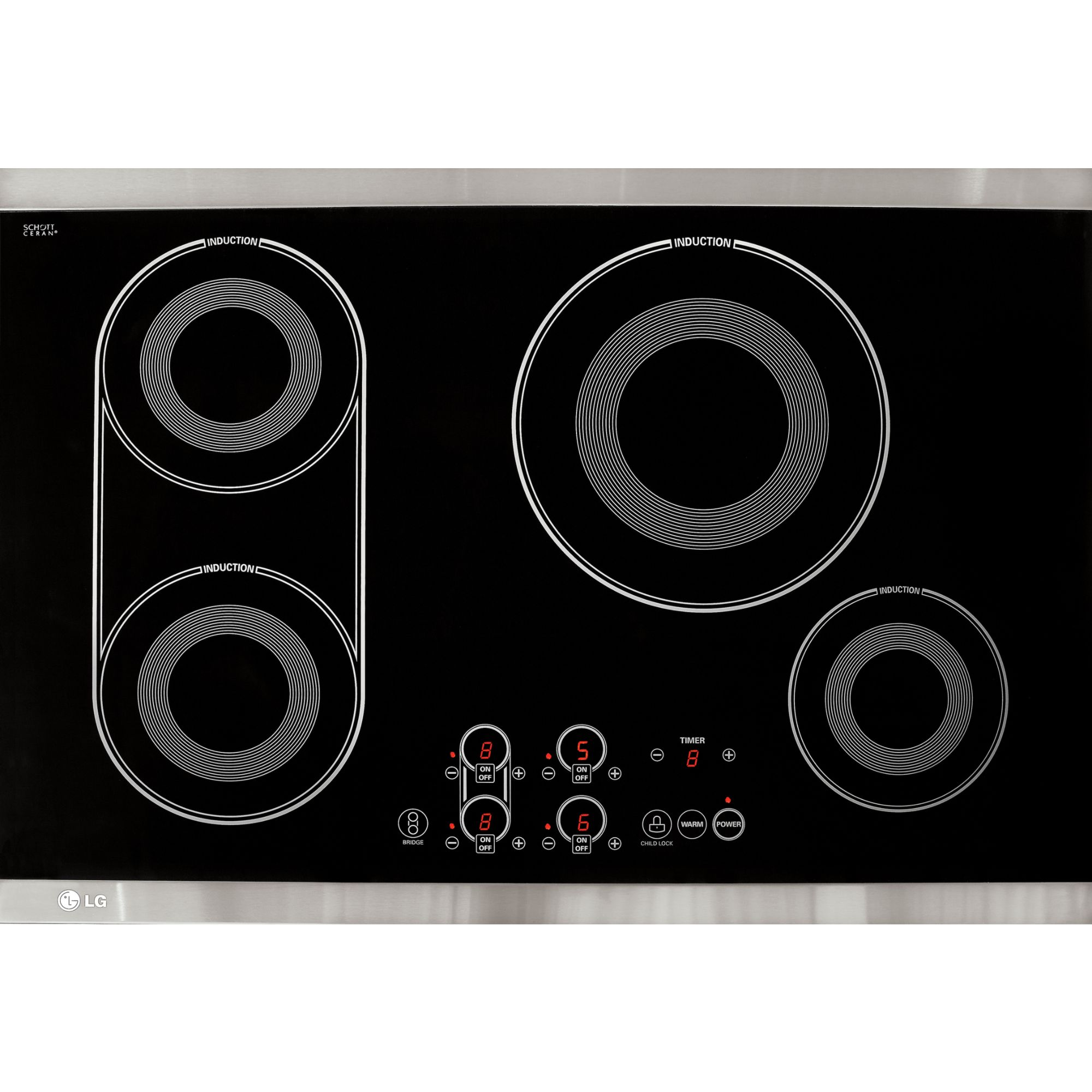 Lg Lce30845 30 Quot Induction Electric Cooktop