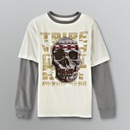 Route 66 Boy's Raw Edge Faux Layered Shirt at Kmart.com