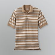 Basic Editions Men's Big & Tall Striped Pique Polo Shirt at Kmart.com