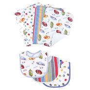 Trend Lab NASCAR® - 7pc Bib & Burp Cloth Set by Trend Lab at Kmart.com