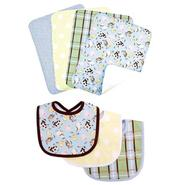 Trend Lab Baby Barnyard- 7pc Bib & Burp Cloth Set by Trend Lab at Kmart.com