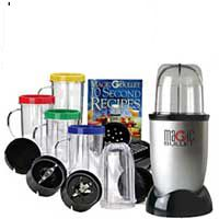 As Seen On TV Magic Bullet Express 17-Piece Blender Set Gray