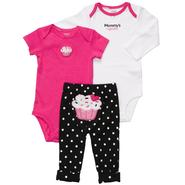 Carter's Infant Girls' Set 3pc Cupcake Pink Black at Sears.com