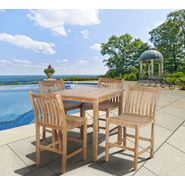 Amazonia Clifton 5pc Square Teak Patio Dining Set at Kmart.com