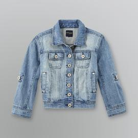 Highway Jeans Junior's Cropped Denim Jacket at Sears.com