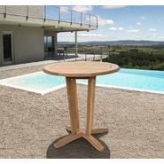 Amazonia Montana Teak Wood Round Patio Bistro Table at Sears.com
