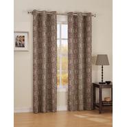 Jaclyn Smith Wine-Color Dean Print Grommet Panel at Kmart.com