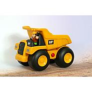 11IN CATERPILLAR Big Builder Dump Truck With Figure at Kmart.com