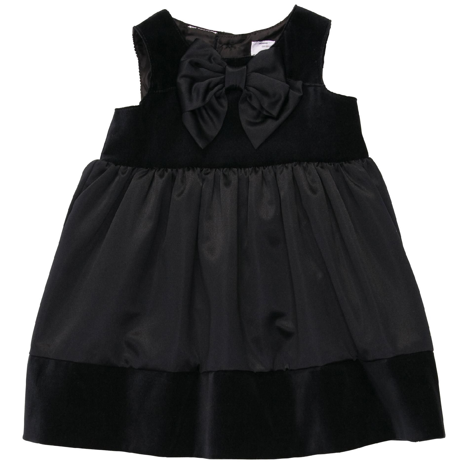 Carters  Infant Girl's Dress Velvet