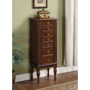 Monarch Specialties Antique Cherry Jewelry Armoire at Sears.com