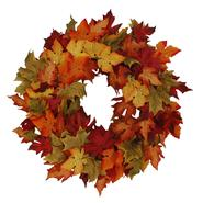 24in Leaf Wreath at Kmart.com