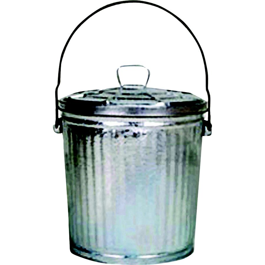 K-mart  10 GALLON GALVANIZED GARBAGE CAN