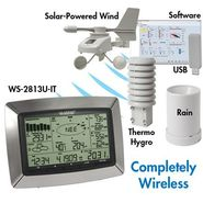 La Crosse Technology Professional Weather Center with Solar Wind Sensor at Sears.com