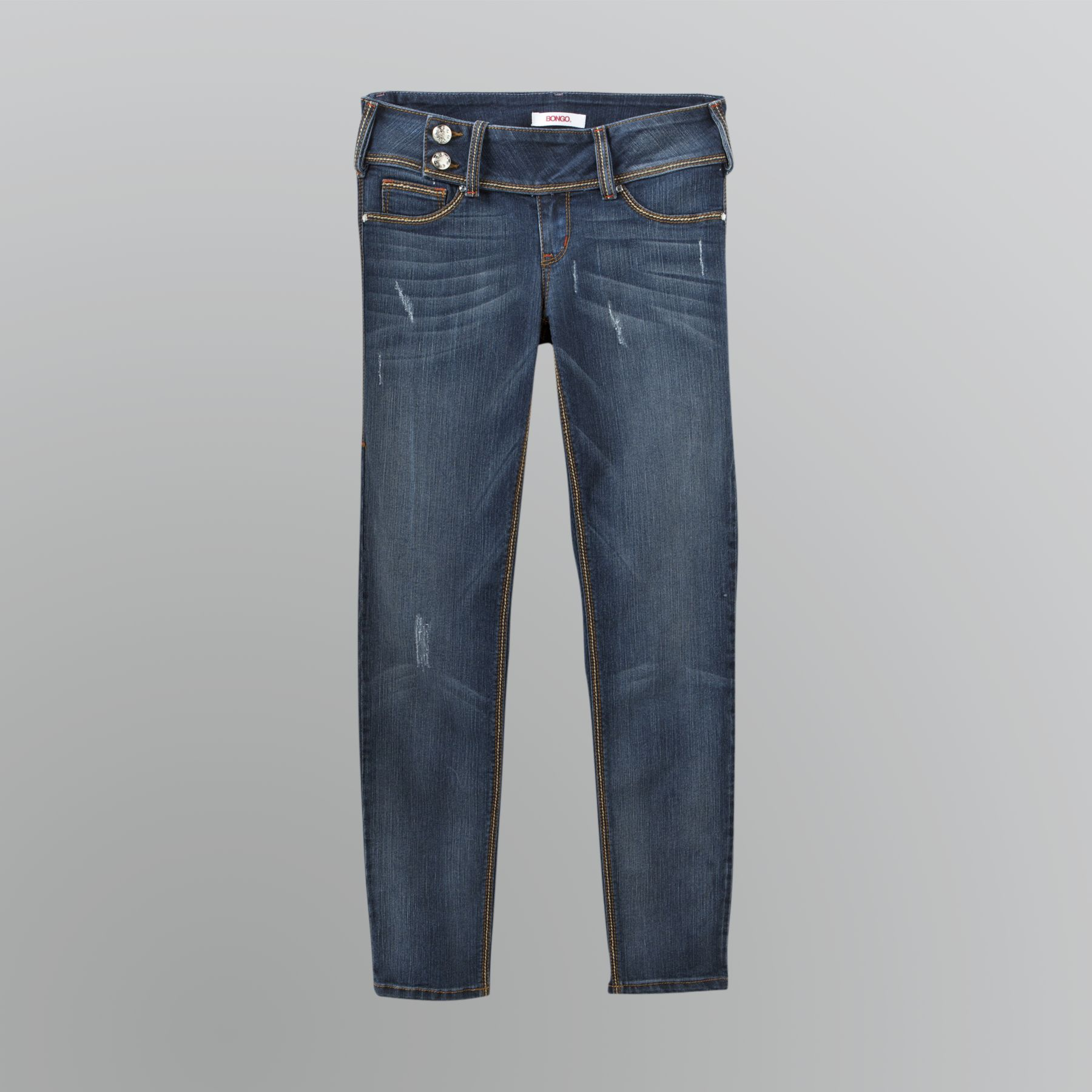 Bongo  Junior's Button Tab Skinny Jeans