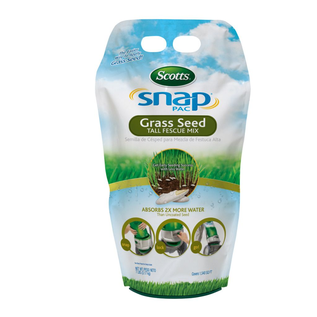 Scotts 7-Pound Snap-Pac Cartridge Tall Fescue Grass Seed                                                                         at mygofer.com