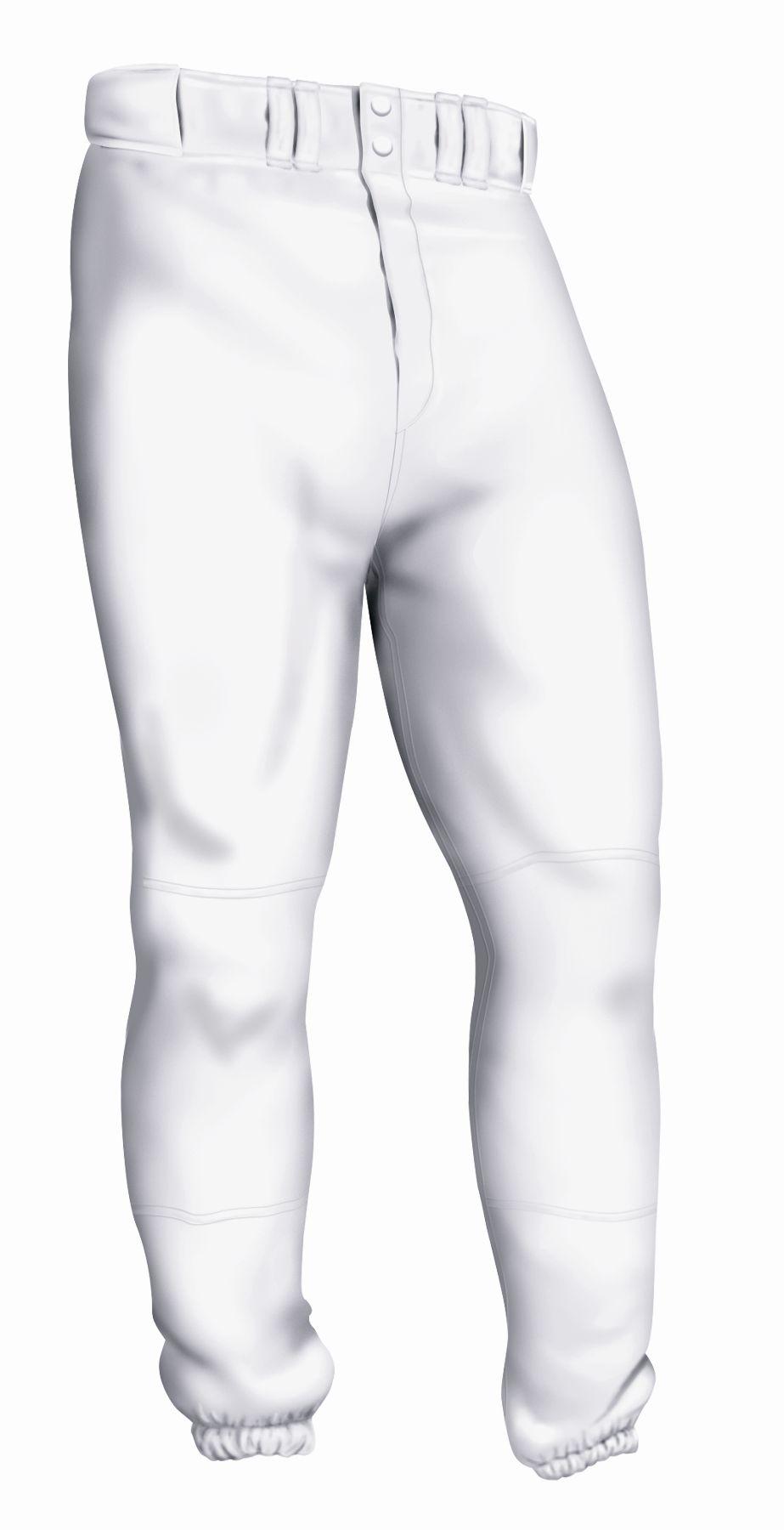 Easton Youth Baseball Pant - White Medium