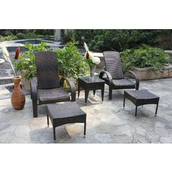 Bellini Home and Gardens Elliot 5 Pc. Chat Group Patio Set at Kmart.com